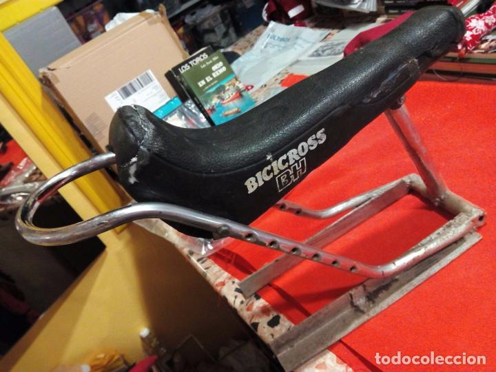 Coleccionismo deportivo: Antiguo Sillin bicicross BH (Solo decorativo) - Foto 3 - 222701958