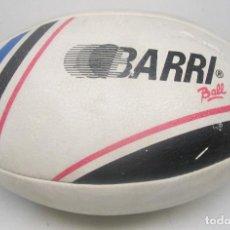 Coleccionismo deportivo: BALÓN, PELOTA RUGBY BARRI BALL, AÑOS 80. Lote 85761336