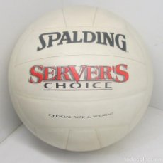Coleccionismo deportivo: BALÓN, PELOTA VOLLEY BALL VOLEIBOL SPALDING SERVER'S CHOICE., AÑOS 80. Lote 85762236