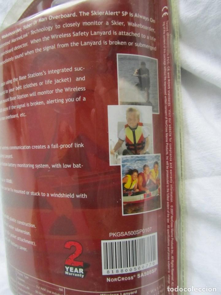 Coleccionismo deportivo: Alerta inalambrica de seguridad para esquiadores acuáticos NorCross - Foto 7 - 86394012