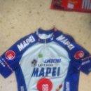 Coleccionismo deportivo: MAILLOT CICLISMO MAPEI.HALCONI SPORT.. Lote 86480224