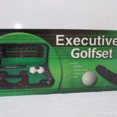 Coleccionismo deportivo: EXECUTIVE GOLFSET. SET DE GOLF. PALO DE MINI GOLF. EJECUTIVO. OFICINA. VER FOTOGRAFIAS. Lote 86612420