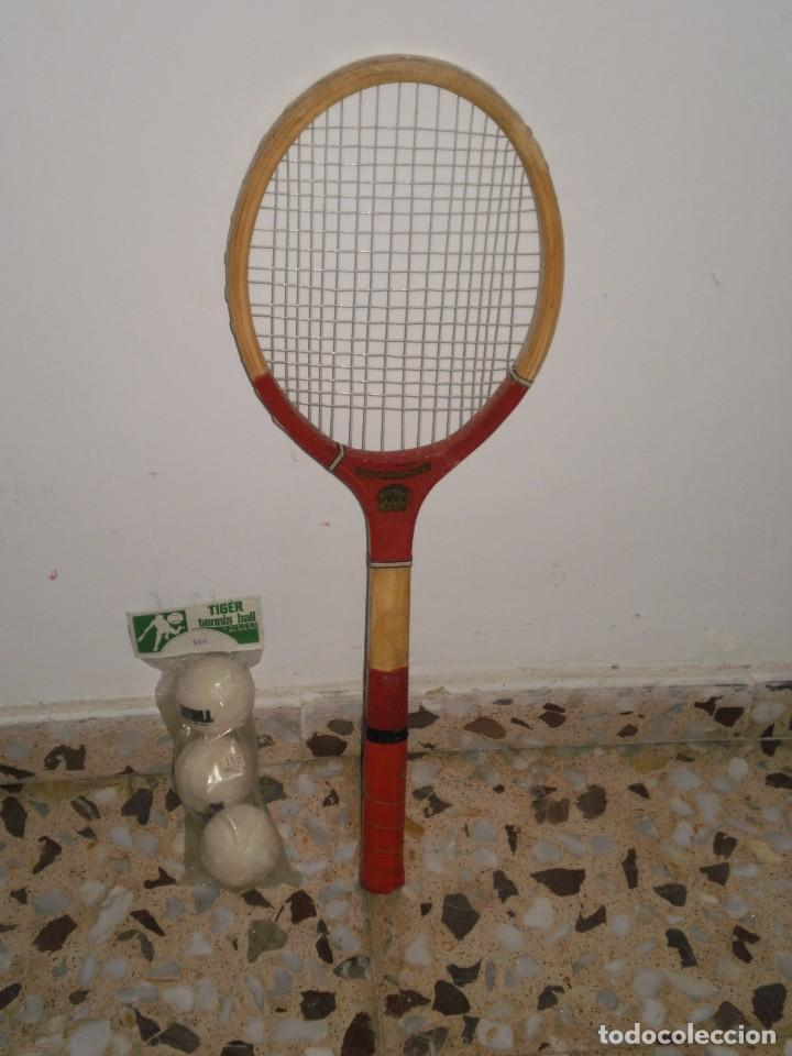 Raqueta De Tenis De Madera Tournament Hecha Comprar En