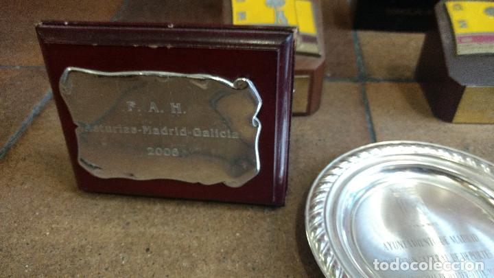 Coleccionismo deportivo: Lote de trofeos de halterofilia o levantamiento de pesas San Isidro Madrid. - Foto 5 - 89248796