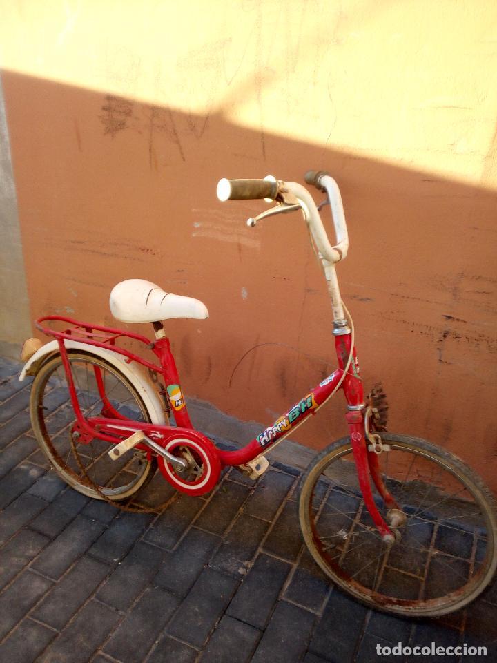 Coleccionismo deportivo: Antigua bicicleta BH HAPPY - Foto 2 - 93641685