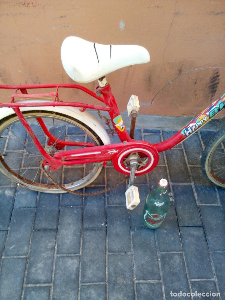 Coleccionismo deportivo: Antigua bicicleta BH HAPPY - Foto 3 - 93641685