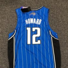 Coleccionismo deportivo: DWIGHT HOWARD (SUPERMAN) CAMISETA ADIDAS ORLANDO MAGIC CON AUTOGRAFO ORIGINAL Y CERTIFICADO JSA/LOA. Lote 95333359