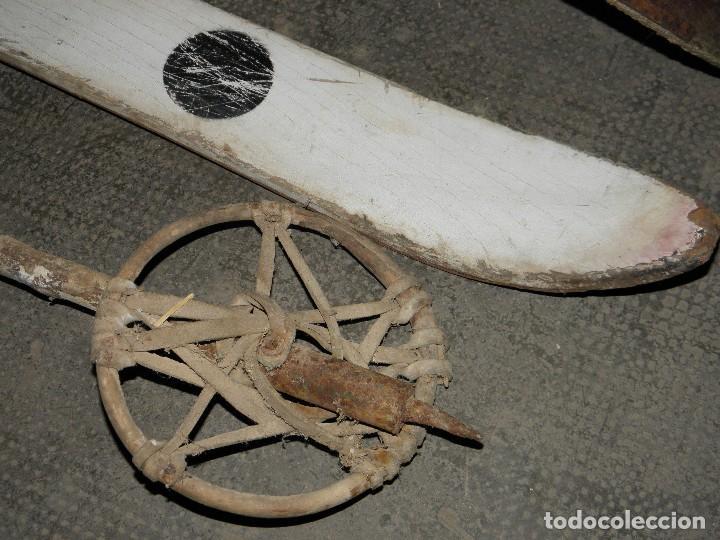 Coleccionismo deportivo: ESQUIS /ESQUIES MILITARES - Foto 2 - 97095839