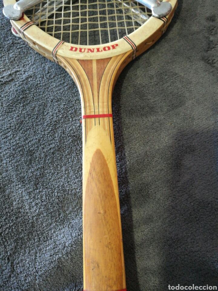 Coleccionismo deportivo: Raqueta de tenis Dunlop Maxiply años 70 - Foto 5 - 97362439
