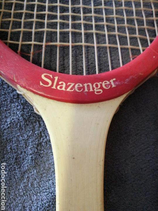 Coleccionismo deportivo: Raqueta de tenis Slazenger Jupiter - Foto 2 - 97362575