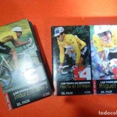 Coleccionismo deportivo: COLECCION VHS INDURAIN..EL PAIS.. Lote 97404731