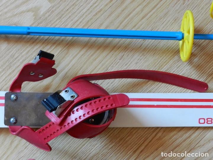 Coleccionismo deportivo: ESQUÍS FAS M 80 made in italy NIÑO BASTONES EQUIPO ESQUÍ INFANTIL ski esquies años 70 juguete - Foto 3 - 97457579