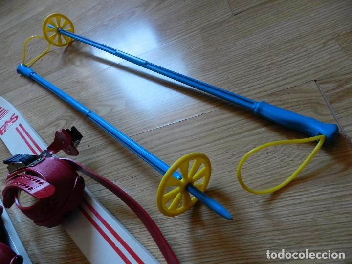 Coleccionismo deportivo: ESQUÍS FAS M 80 made in italy NIÑO BASTONES EQUIPO ESQUÍ INFANTIL ski esquies años 70 juguete - Foto 10 - 97457579