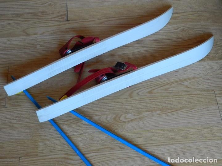 Coleccionismo deportivo: ESQUÍS FAS M 80 made in italy NIÑO BASTONES EQUIPO ESQUÍ INFANTIL ski esquies años 70 juguete - Foto 16 - 97457579