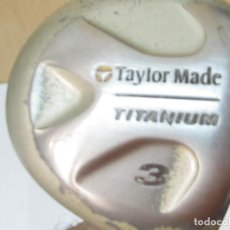 Coleccionismo deportivo: PALO DE GOLF TAYLOR MADE TITANIUM 3. Lote 97603943