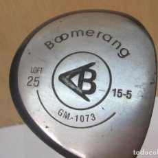 Coleccionismo deportivo: PALO DE GOLF BOOMERANG, LOFT 25. Lote 97606991