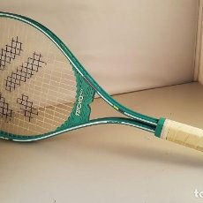 Coleccionismo deportivo: RAQUETA DE TENIS DE ALUMINIO TECNO PRO - TRIDENT 3. INCLUYE FUNDA. GRIP PASADO.. Lote 97913683