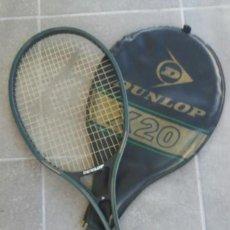 Coleccionismo deportivo: RAQUETA TENIS DUNLOP X20 ( CON FUNDA ). Lote 98418323