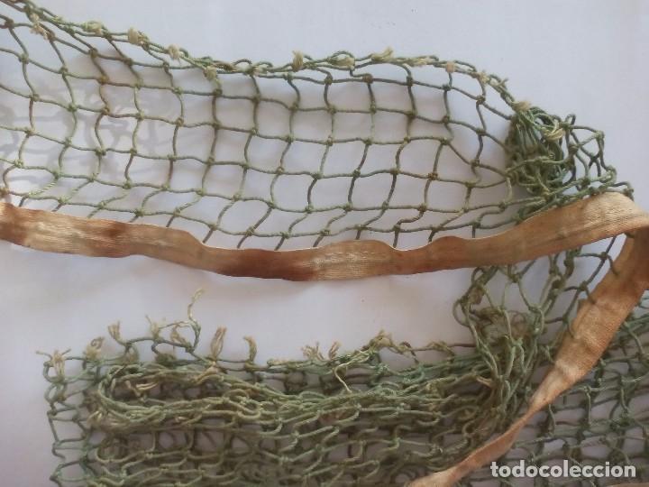 Coleccionismo deportivo: Antigua red de pin pon con el soporte original, años 50. - Foto 2 - 100438939