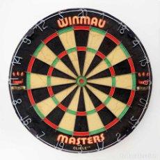 Coleccionismo deportivo: DIANA PROFESIONAL INGLESA WINMAU MASTERS. 45CM. Lote 100646719