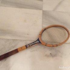 Coleccionismo deportivo - Raqueta madera vintage Spalding matchplay - 143760764