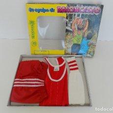 Coleccionismo deportivo: TRAJE TU EQUIPO DE BALONCESTO- ZARAGOZA TALLA 2. ORIGINAL AÑOS 80. NUEVO, A ESTRENAR!. Lote 100940335