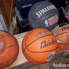 Coleccionismo deportivo: BALON BALONCESTO MIKASA SPALDING MOLTEN BADEN. Lote 101459179