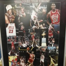 Coleccionismo deportivo: GRAN CUADRO FOTOMONTAJE DE MICHAEL JORDAN. Lote 138148146