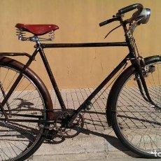 Coleccionismo deportivo: BICICLETA BH CLASICA VARILLAS PIEZA COLECCION FUNCIONANDO. Lote 102924743