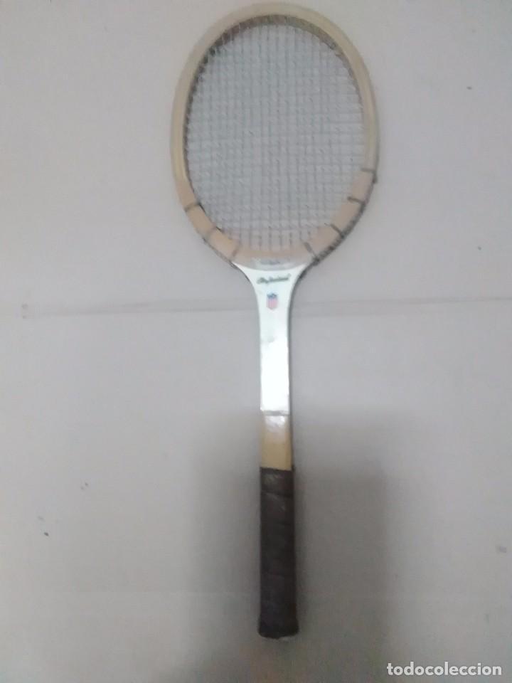 Coleccionismo deportivo: Pareja de raquetas antiguas - Foto 3 - 103803499