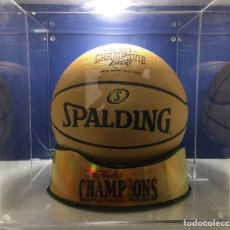 Coleccionismo deportivo: NBA. EDICION LIMITADA. BALON SPALDING. PRIMER ANILLO PAU GASOL.LOS ANGELES LAKERS.. Lote 103937483