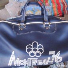Coleccionismo deportivo: BOLSA DEPORTE VINTAGE,MONTREAL 76. Lote 104528807
