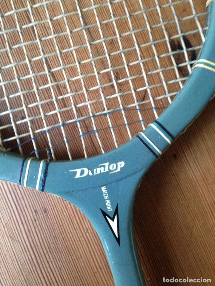 Coleccionismo deportivo: Raqueta dunlop match point - Foto 2 - 105264296