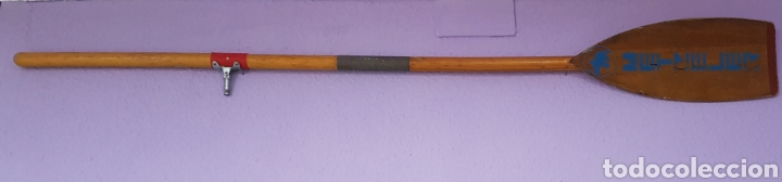 Coleccionismo deportivo: Remo de barco kayac Metzeler - Foto 2 - 105722348