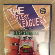 Coleccionismo deportivo: THE LITTLEST LEAGUERS. LEARN TO PLAY BASKETBALL (DVD). Lote 106965023