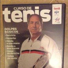 Coleccionismo deportivo: CURSO DE TENIS. CLASE MAGISTRAL CON LUIS MEDIERO (DVD). Lote 131719638