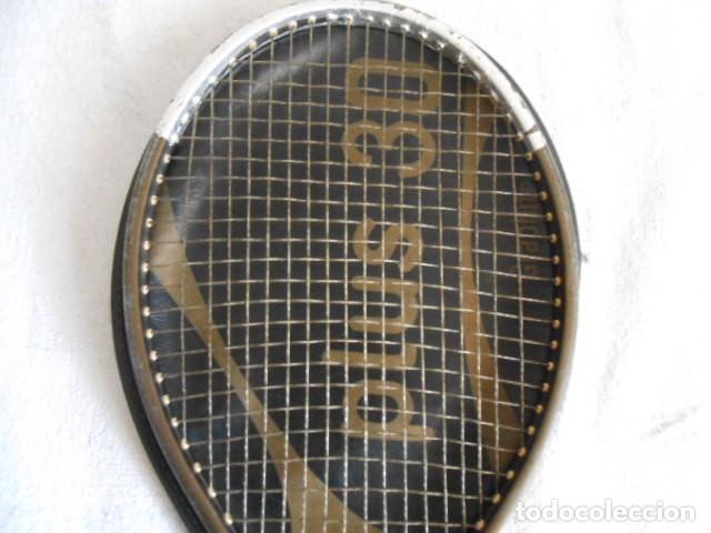 Coleccionismo deportivo: RAQUETA TENIS KUEBLER RECKET PLUS 30 CON FUNDA - Foto 4 - 108279367