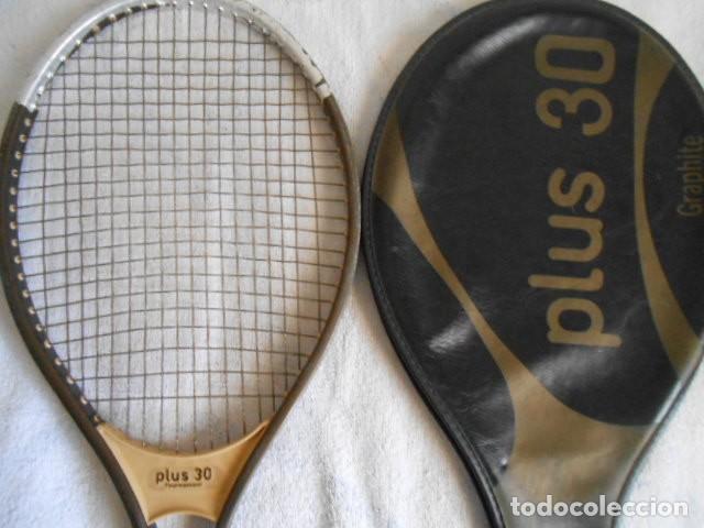 Coleccionismo deportivo: RAQUETA TENIS KUEBLER RECKET PLUS 30 CON FUNDA - Foto 5 - 108279367