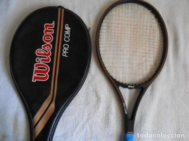 Coleccionismo deportivo: DOS RAQUETAS TENIS MARCAS WILSON Y KUEBLER CON SUS FUNDAS - Foto 16 - 108280203