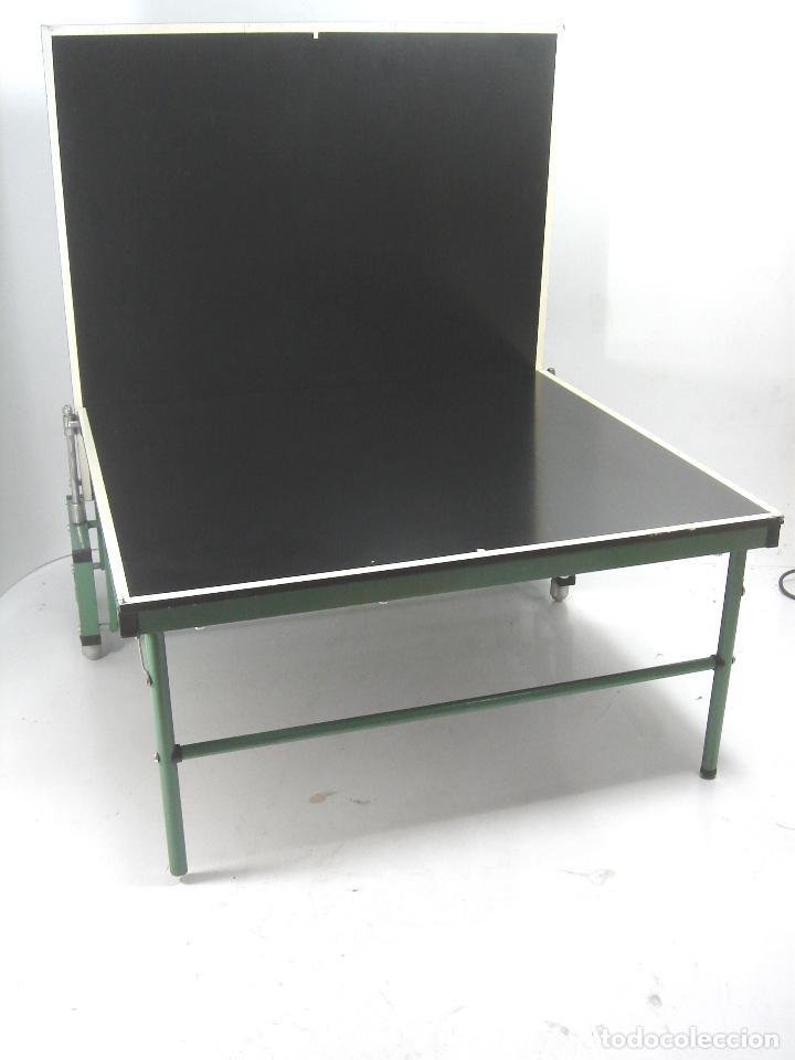 Curiosa mini mesa de ping pong vintage a os 5 comprar en todocoleccion 109484347 - Mesa ping pong plegable ...