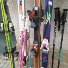 Coleccionismo deportivo: LOTE DE 4 SKISS. Lote 111116644
