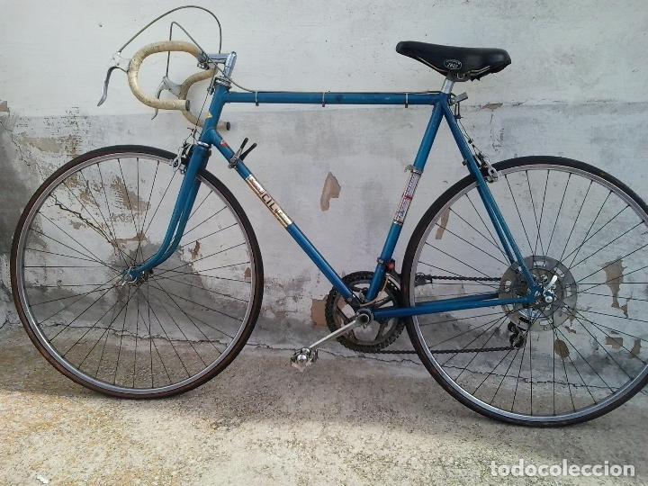 Coleccionismo deportivo: Bicicleta de carreras SUPER CIL - Foto 2 - 114103251
