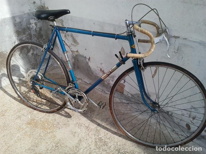 Coleccionismo deportivo: Bicicleta de carreras SUPER CIL - Foto 5 - 114103251