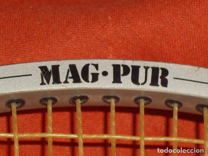 Coleccionismo deportivo: RAQUETA DE TENIS - MAG PUR - Foto 6 - 114448791