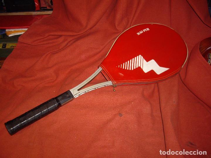 Coleccionismo deportivo: RAQUETA DE TENIS - MAG PUR - Foto 8 - 114448791