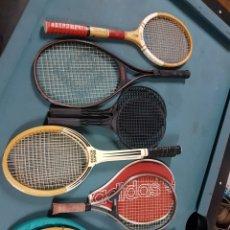Coleccionismo deportivo: LOTE DE RAQUETAS DE TENIS VINTAGES. Lote 114642628