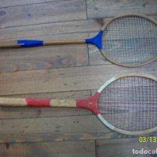Coleccionismo deportivo: LOTE DE 2 RAQUETAS. Lote 114938139