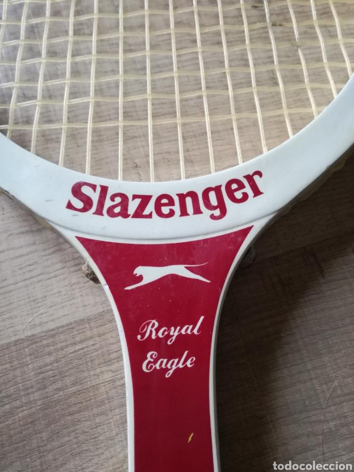 Coleccionismo deportivo: Raqueta slazenger años 70 - Foto 2 - 116409220