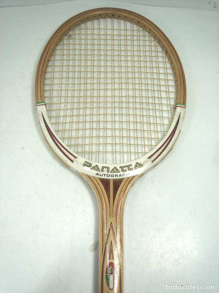 Rara y antigua raqueta de tenis madera - panatt - Vendido en Venta ... 61ac0ffa821a0