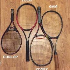 Coleccionismo deportivo: RAQUETAS---TENIS-KIT DE TENIS(80€). Lote 119739399